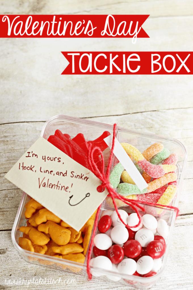 Valentine Fish Tackle Box