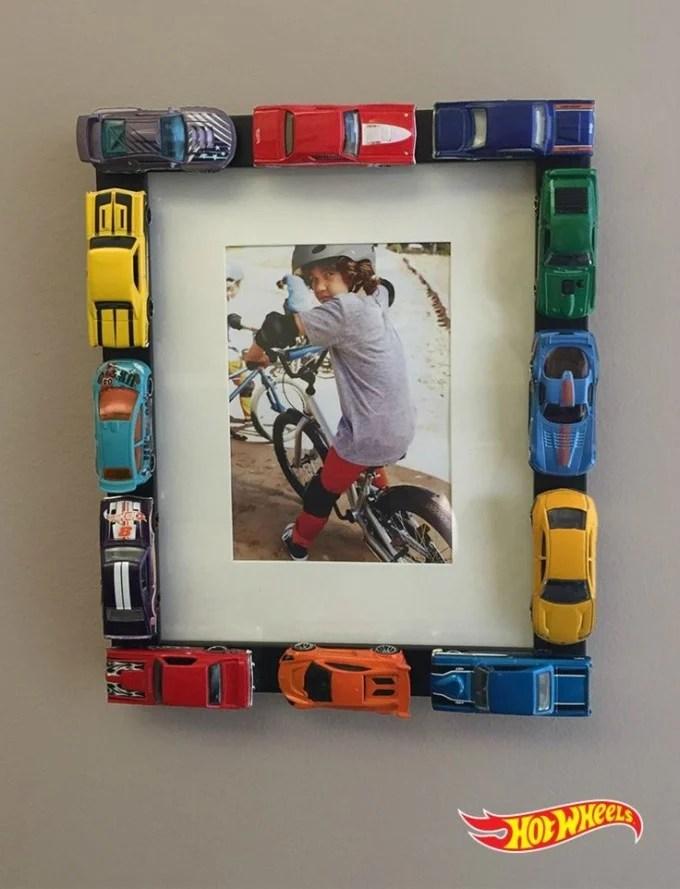 DIY Hot Wheels Cars Frame