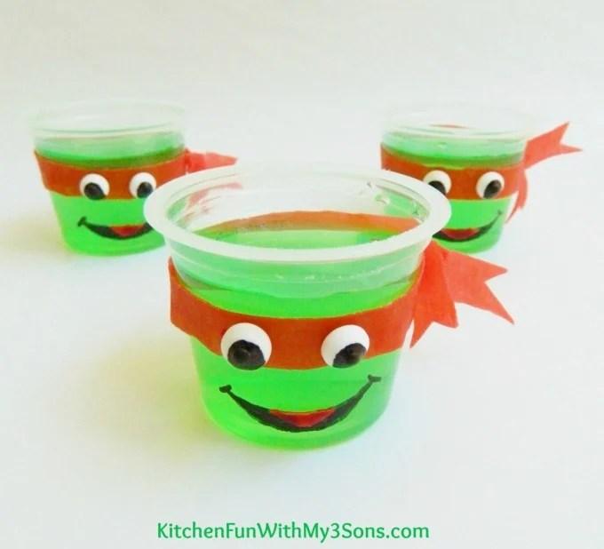 TMNT Jello Cups