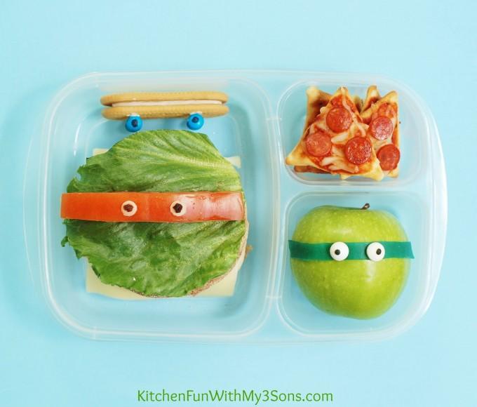 TMNT Bento Lunch