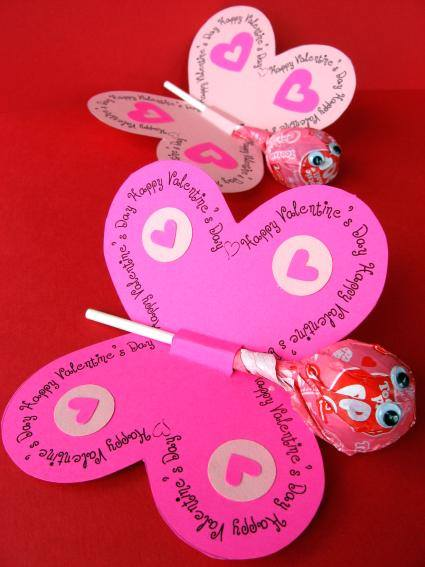 Butterfly Valentine's Day Cards