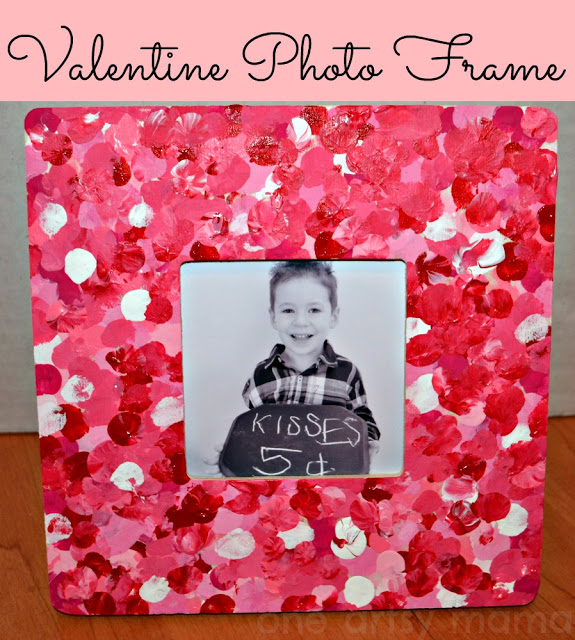 Valentine Photo Thumbprint Frame