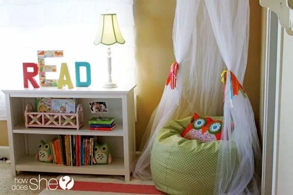 Bean Bag Book Nook