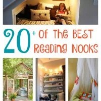 Over 20 of the BEST DIY Reading Nook Ideas!