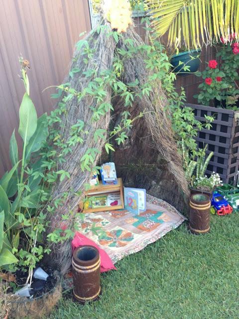 Outdoor Reading Den for Kids