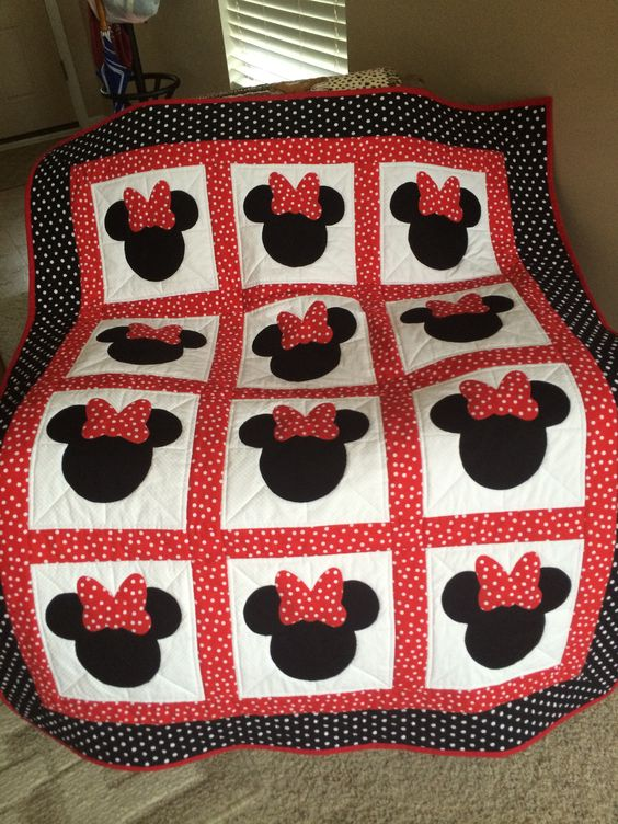 Mickey Mouse Quilt Pattern