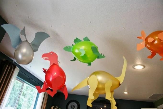 Dinosaur Party Balloons
