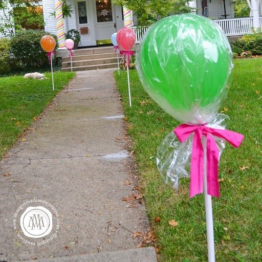 Lollipop Balloon Entry for a Party!