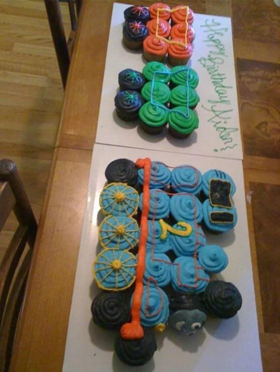 Cup Cakes Unicornio Cup Cakes In 2019 Cupcake Ideen Geburtstag