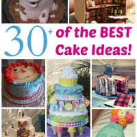 Over 30 of the BEST Cake Ideas from KitchenFunWithMy3Sons.com