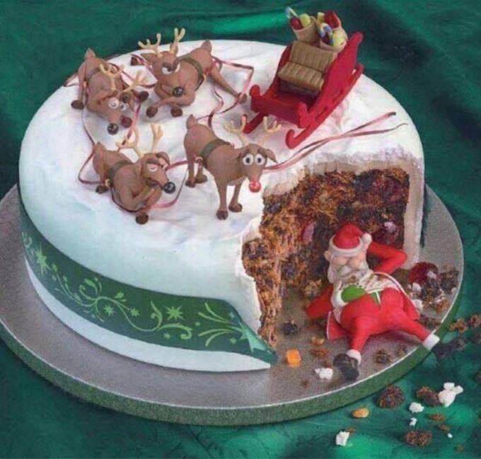 Christmas Santa Cake...these are the BEST Cake Ideas!
