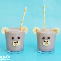 Chocolate Peanut Butter Banana Smoothie Monkey