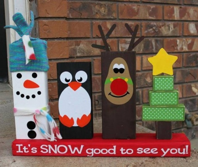 Diy X Wood Christmas Decoration These Are The Best Homemade Holiday Crafts