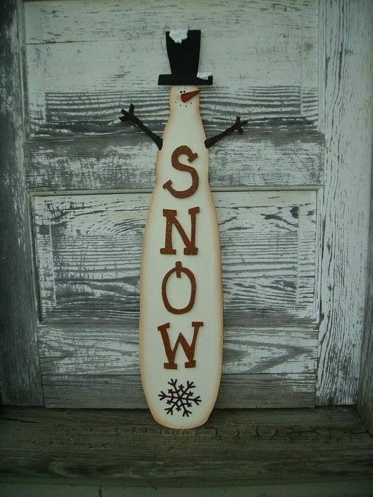 Lame de fan de bonhomme de neige