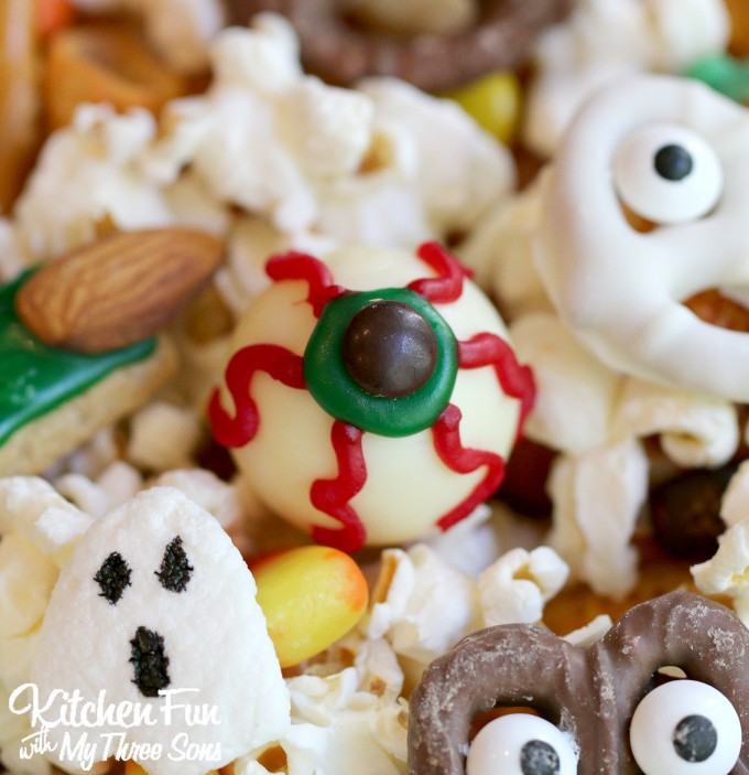 Decorated Graham Sticks Halloween