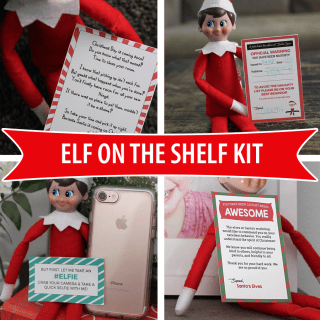 Printable Elf On The Shelf Kit