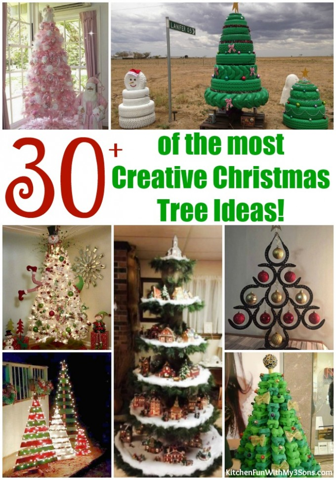 )ver 30 of the BEST Christmas Tree Ideas!