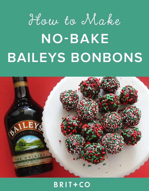 No-Bake Boozy Bailey's BonBons...these are the BEST Christmas Cookie Recipes!