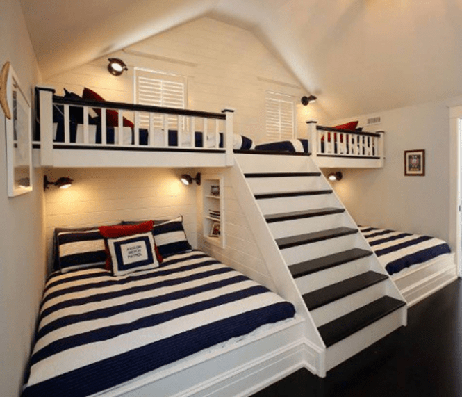 Wall Bunk Beds With Stairs These Are The Best Bed Ideas
