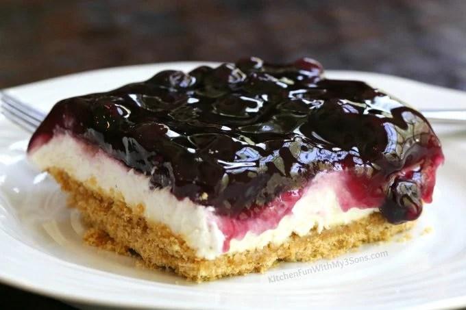 Lemon Blueberry Cheesecake Dessert Kitchen Fun With My 3