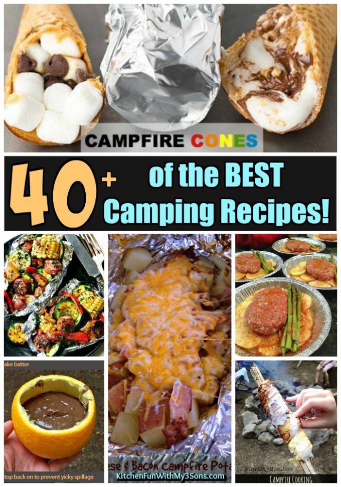 Over 40 of the BEST Camping Recipes!