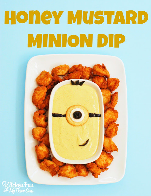 Minion Honey Mustard Dip