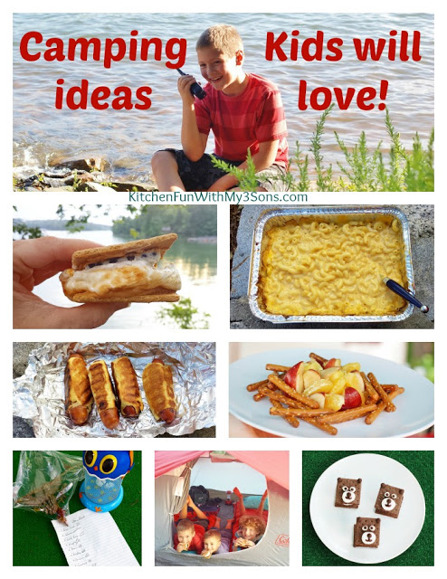 Camping Recipes for Kids!