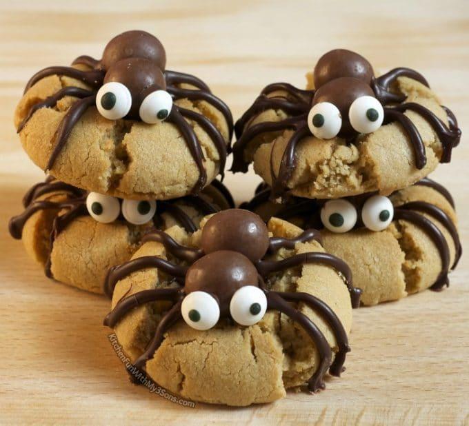 Halloween Spider Cookies