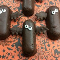 Halloween Bat Twinkies