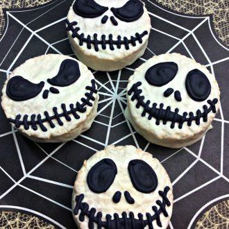 Jack Skellington Ding Dongs for Halloween!