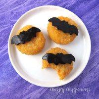 Halloween Cheese Moon Snacks