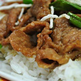 Mongolian Beef Instant Pot