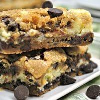 Chocolate Chip Cheesecake Bars
