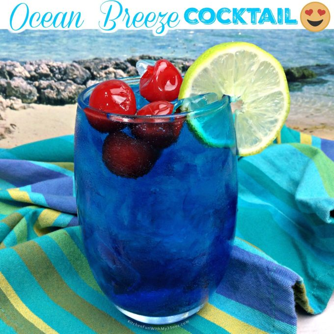 Ocean Breeze Cocktail - Over 40 of the BEST Summer Cocktails!