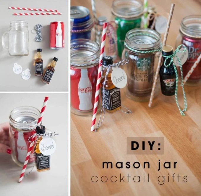 DIY Mason Jar Cocktail Gifts - Over 40 of the BEST Summer Cocktails!