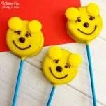 Pooh Oreo Pops