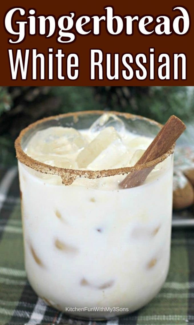 Gingerbread White Russian