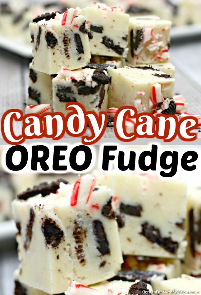 Candy Cane OREO Fudge