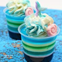 Mermaid Jello Shots