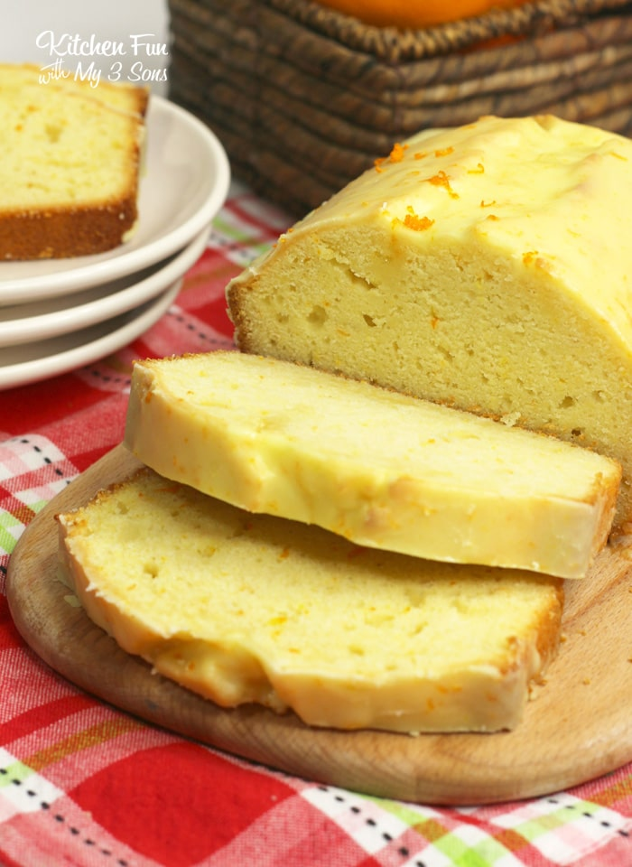 Orange Bread with a fresh orange glaze on top is your new favorite breakfast bread. It's simple to make and tastes yummy.