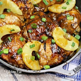 Jakks Pacific Rim Chicken is a savory dish that magically turns boring old chicken thighs into a sweet heat explosion of island flavor!