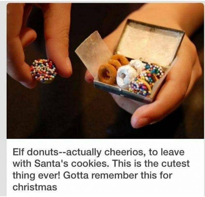 Elf on the Shelf Donuts