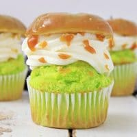 The Best Caramel Apple Cupcakes