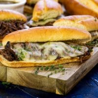 French Dip Sandwich Recipe {Crockpot or Instant Pot}