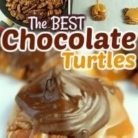 The BEST Chocolate Turtles