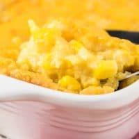 Best Corn Casserole Recipe {5 min prep - 6 ingredients}