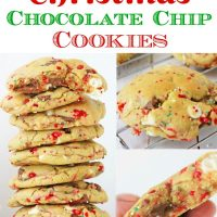 Christmas Chocolate Chip Cookies