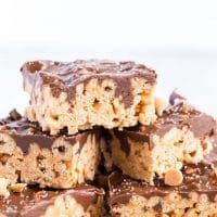 Chocolate Caramel Cereal Bars Recipe