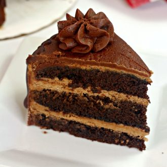 instant pot chocolate layer cake