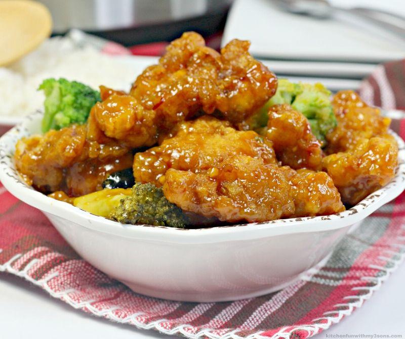 Instant Pot Copycat Chinese Orange Chicken Recipe